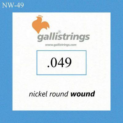 Galli Strings NW049 pojedyncza struna do gitary elektrycznej