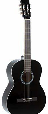 Gewa pure GEWApure Basic gitara koncertowa zestaw 3/4, kolor czarny, z torbą, klipsem i 2 kostkami PS510176