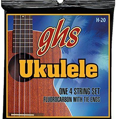ghs GHS H 20Fluoro Carbon Soprano/concerted Ukulele String H20