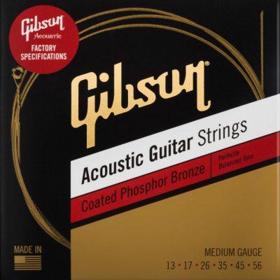 Gibson SAG-CPB13 13-56 Coated Phosphor Bronze struny elektryczne