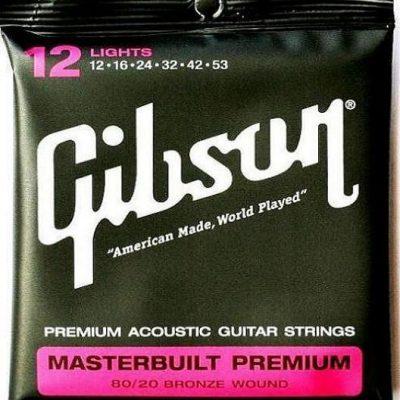 Gibson struny do gitary akustycznej 80/20 12-53