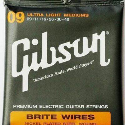 Gibson struny do gitary elektrycznej (9-46)