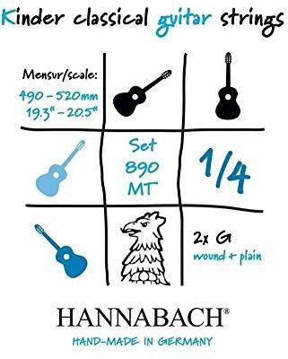 Hannabach 653062 struny do gitary klasycznej 653062