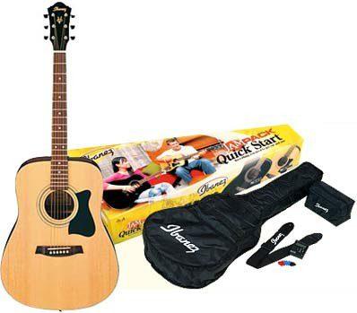 Ibanez Ibanez V50NJP-NT - zestaw gitarowy z gitarą akustyczną