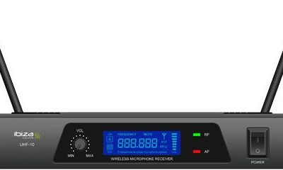 Ibiza 153026b UHF radiowy system mikrofon UHF10B