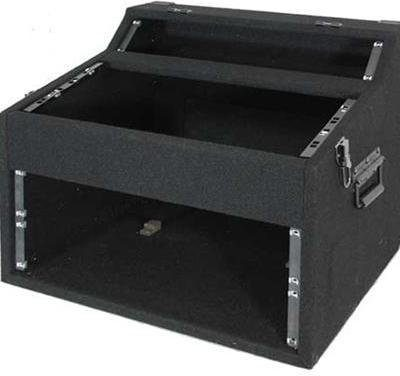 Ibiza DJ i PA skrzynia rack 2 + 5 +4 U, kufer rack BD-FC254