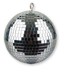 Ibiza mb008Disco Ball, czarny MB008
