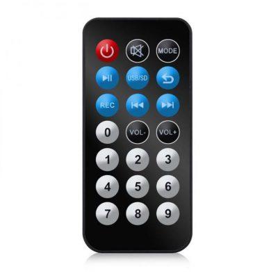Ibiza Port8VHF-BT przenośna kolumna Bluetooth USB SD 200W RMS ze statywem do kolumn 7137-MIC
