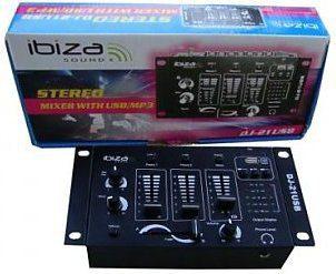 Ibiza Sound DJ21USB