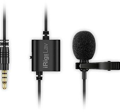 IK Multimedia iRig Mic Lav mikrofon krawatowy dla urządzeń mobilnych 148282