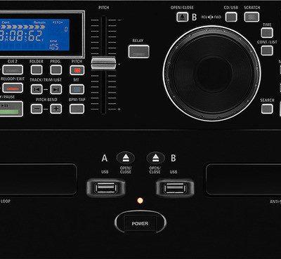 IMG IMG STAGELINE CD-292USB Podwójny odtwarzacz CD/MP3 dla DJ 19892