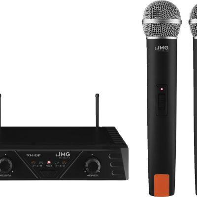 IMG IMG STAGELINE TXS-812SET Podwójny zestaw mikrofonu bezprzewodowego 18719
