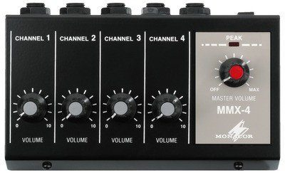 IMG Stage Line MMX-4 - mikser mikrofonowy