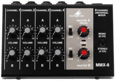 IMG Stage Line MMX-8 - kompaktowy mikser audio