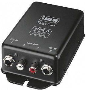 IMG STAGE LINE MPR-6, przedwzmacniacz mikrofonowy MPR-6