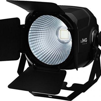 IMG StageLine Parc-100E/WS COB-LED-reflektor, 3kanały/1Czarny PARC-100E/WS