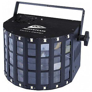 JB SYSTEMS Efekt świetlny LED PARTY DERBY - LED Derby 4x 3W led(RGBW) + 16x strobe + IR re B04186