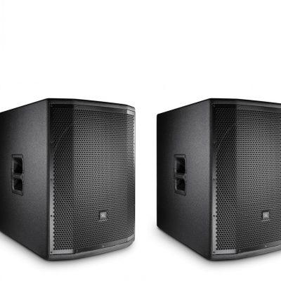 JBL 2x PRX835W + 2x PRX818XLFW - zestaw nagłośnieniowy