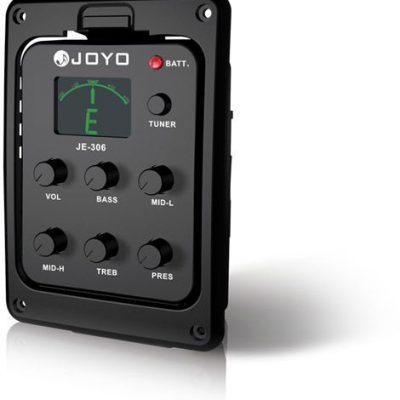 Joyo JE-306 - Przystawka do gitary akustycznej z przedwzmacniaczem