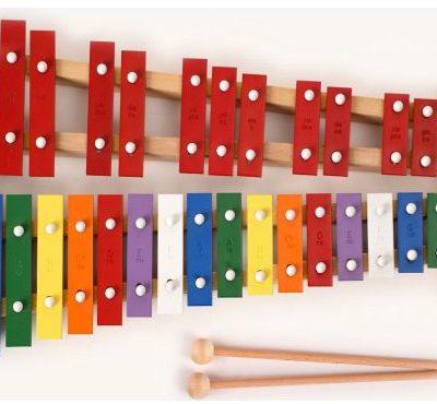 Kaja Kaja dzwonki chromatyczne 27 tonowe kolorowe