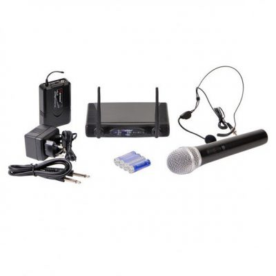 Karsect WR-9D/HT-15 /PT-15/HT-9A - system bezprzewodowy z Mikrofonem do ręki i n