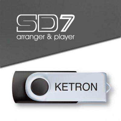 Ketron PEN DRIVE 2016 STYLE UPGRADE VOL.1 do SD7