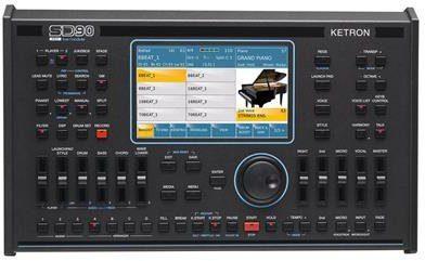 Ketron SD 90 Pro Live Station - moduł brzmieniowy