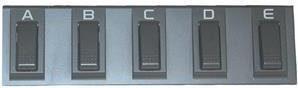 Korg EC-5 pedal wielofunkcyjny dla i-serii KREC5