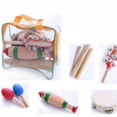 KUGO Kugo PS6 zestaw edukacyjny perkusyjny