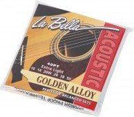 LaBella 40PT Folk struny do gitary akustycznej 10-50