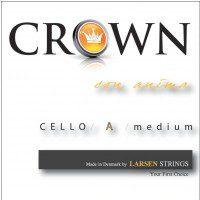 Larsen 638801) Crown struna do wiolonczeli A Medium 4/4