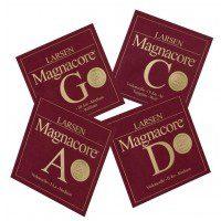 Larsen 639504) Magnacore struny do wiolonczeli Set Arioso 4/4