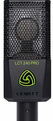 Lewitt LCT 240 Pro mikrofon do nagrywania domowego, czarny LCT 240 PRO