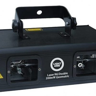 LIGHT4me Laser Rg Double 200mW Geometric