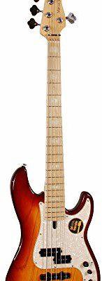 LTD DAME CO., Sire Marcus Miller P7 Swamp Ash-5 (2.Gen) TS Bass, Tobacco Sunburst P7 SWAMP ASH-5 TS Bass Tobacco Sunburst
