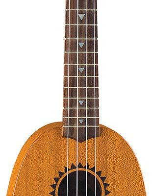 Luna Guitars Luna Mahogany Tattoo Soprano Pineaple - ukulele sopranowe