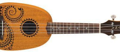 Luna Mahogany Tattoo Soprano Pineaple - ukulele sopranowe