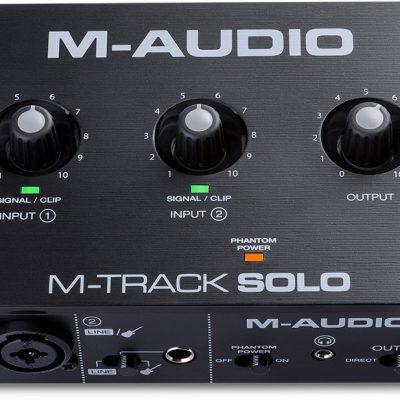 M-Audio M-track solo - Interfejs Audio USB