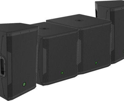 Mackie 2x SRM650 + 2x SRM 1850 - zestaw nagłośnieniowy aktywny