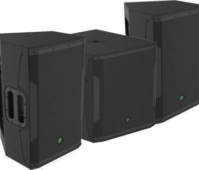 Mackie 2x SRM650 + SRM 1850 - zestaw nagłośnieniowy aktywny