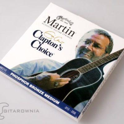 Martin Claptons Choice struny do gitary akustycznej .013-.056 Phosphor Bronze ME