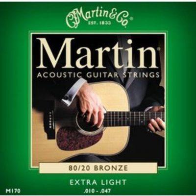 Martin struny do gitary akustycznej .010-.047 Bronze M170