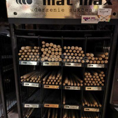 MatMax MAT MAX Pałki Perkusyjne