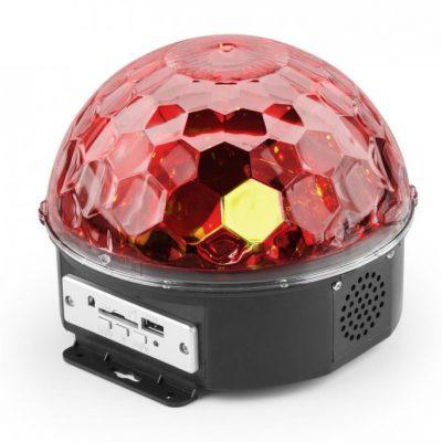 MAX MAX Magic Jelly Półkula z odtwarzaczem MP3 Efekt świetlny LED RGB sterowanie muzyką USB SD Sky-153.228