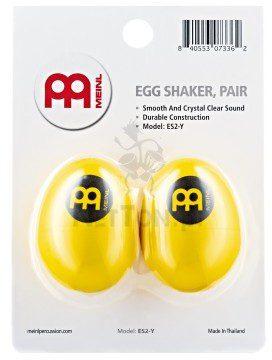 Meinl Percussion ES2-Y Zestaw 2 shakerów jajka 5348-73674