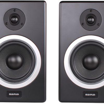 MIDIPLUS MIDIPLUS- MS 6 (PARA) - Monitory studyjne aktywne- niskotonowy głośnik- 6 cali