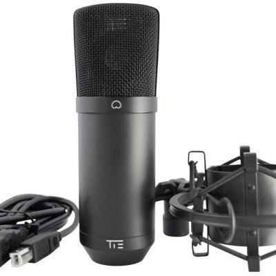 Mikrofon studyjny USB Tie Studio CONDENSOR MIC USB Komunikacja z pająkiem z kablem 19-90012