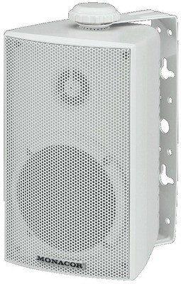 Monacor ESP-215/WS - - Zestaw głośnikowy naścienny