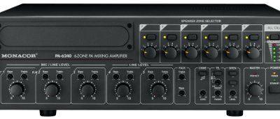 Monacor PA-6600PA mixing amplifier PA-6600