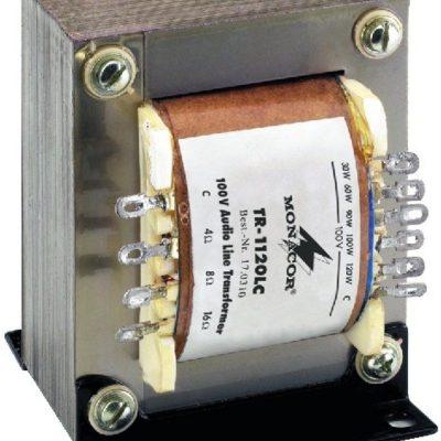 Monacor Trasformatory 100V audio TR-1120LC